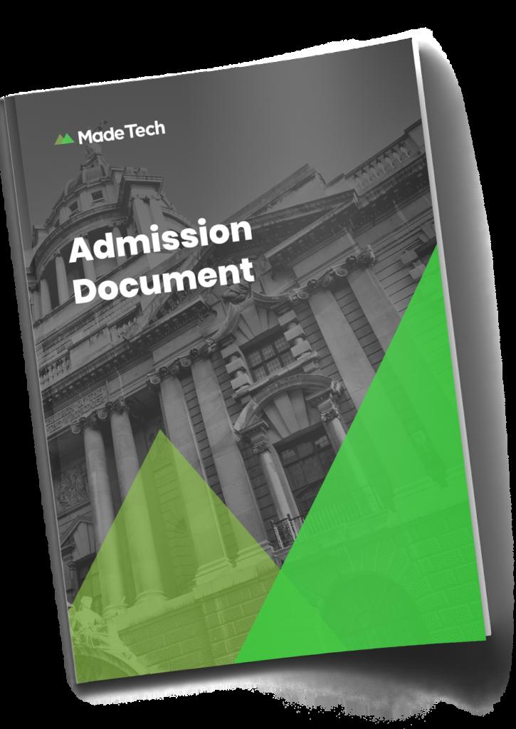 Admission Document